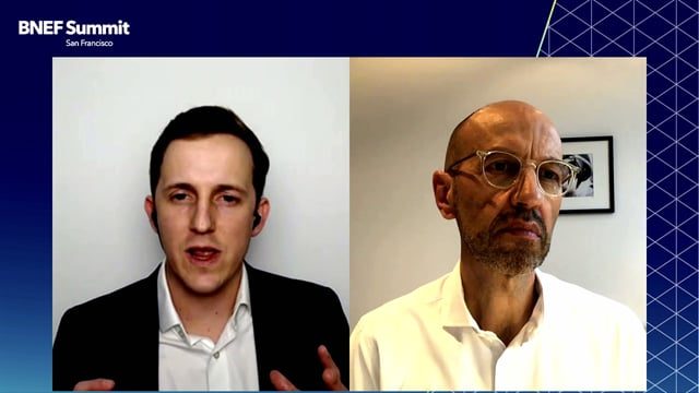 """Watch """"<h3>Jürgen Bilo, Managing Director, co-pace, the Startup Organization of Continental interviewed by Andrew Grant, Senior Associate, Intelligent Mobility, BloombergNEF</h3>"""""""