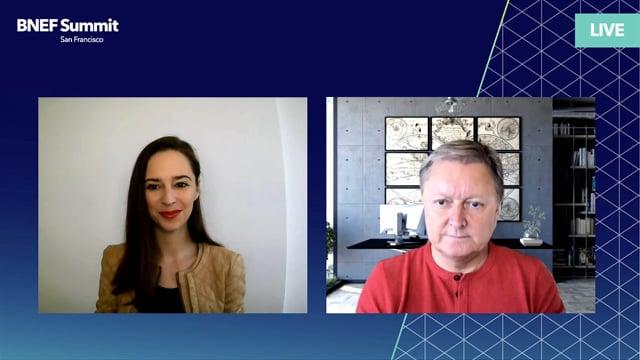 "Watch ""<h3>Henrik Fisker, Chairman & CEO, Fisker Inc interviewed by Veronika Henze, Head of Communications, BloombergNEF</h3>"""
