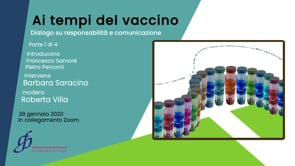 Ai tempi del vaccino