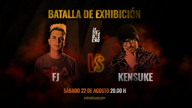 Batalla de Exhibicion entre Fj y Kensuke