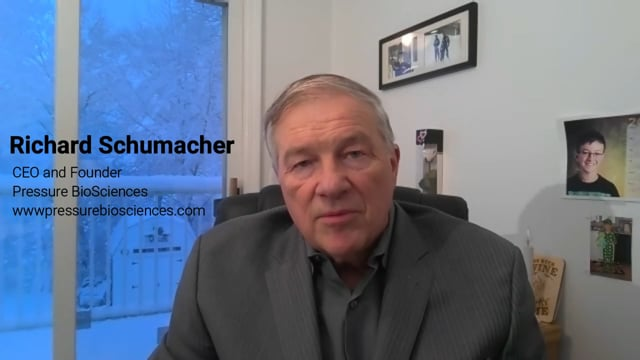 Video Interview with Ric Schumacher, CEO of Pressure BioSciences