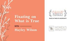 Hayley Wilson Equip Conference 2021 | SBCV