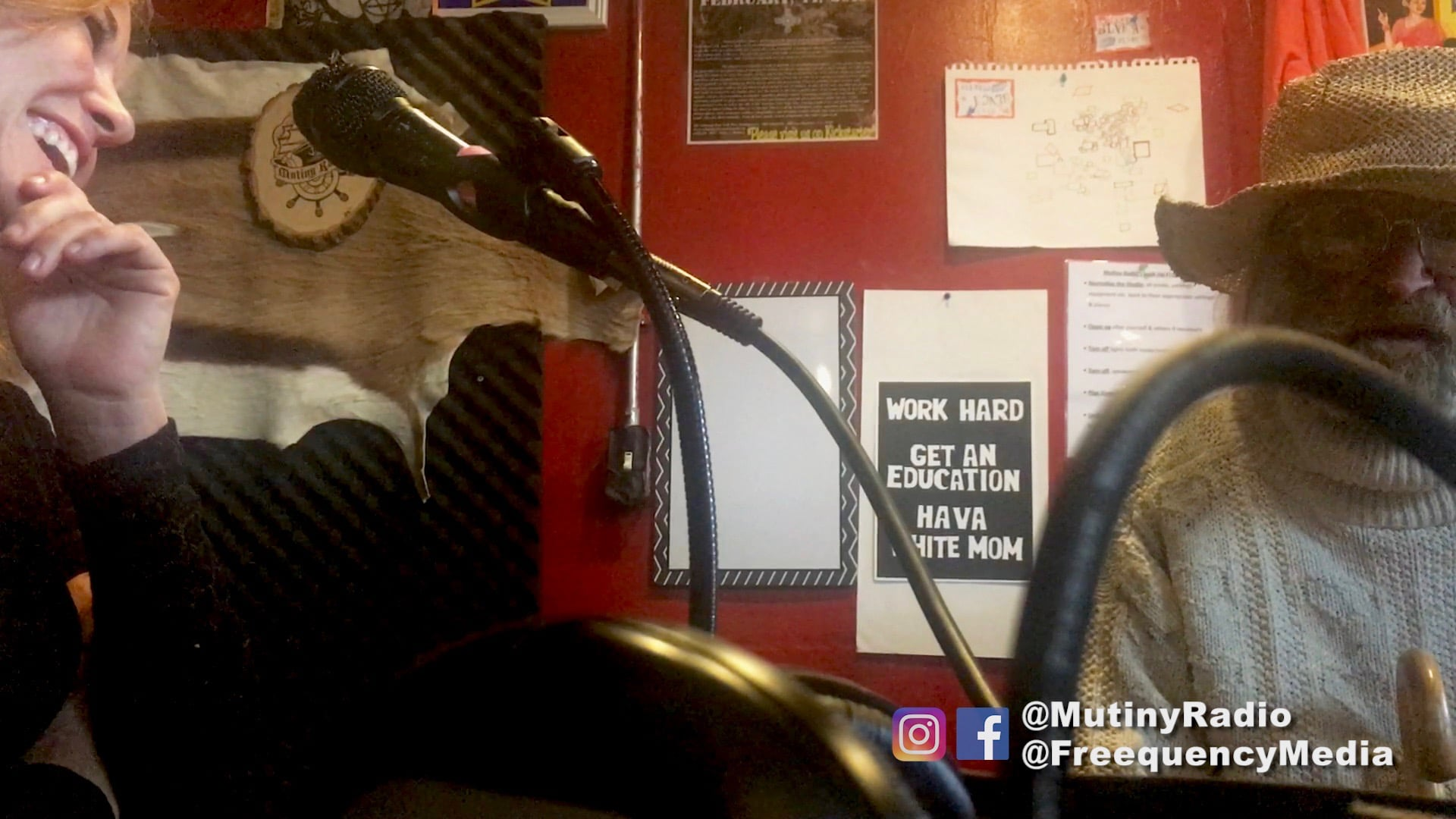 Interview on Mutiny Radio, San Francisco