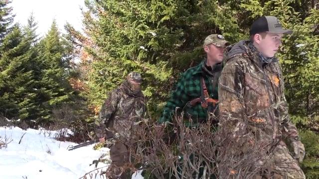 Brayden's Moose Hunt in Vermont with Hunt of A Lifetime