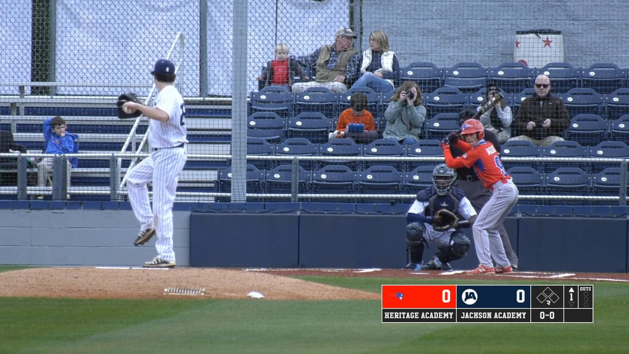 JV Baseball vs Heritage Academy - 02-08-21