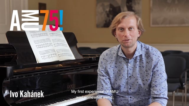 Ivo Kahánek, Czech pianist and HAMU teacher remembers his first and quite ugly experience at AMU in today's video.