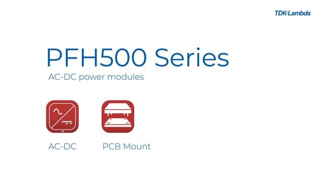 PFH500F 500W AC-DC Power Module Video