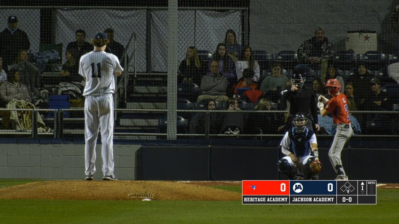Varsity Baseball vs Heritage Academy - 02-08-21