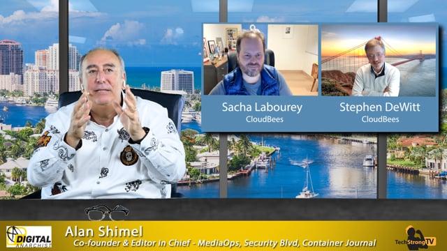 Sacha Labourey and Stephen DeWitt-TechStrong TV
