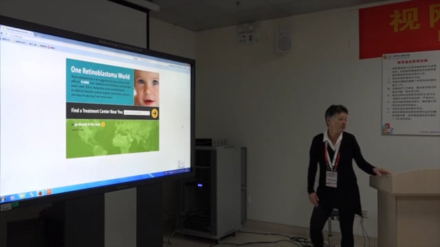 Retinoblastoma: One Retinoblastoma World Map Initiative - Dr. Brenda Gallie