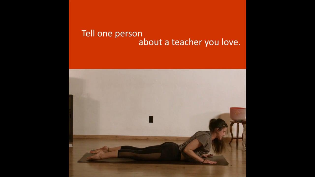 Promo for Om Yoga
