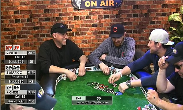 #190: Premiere of poker on air -- tough $2-$5 game Part 1 of 2