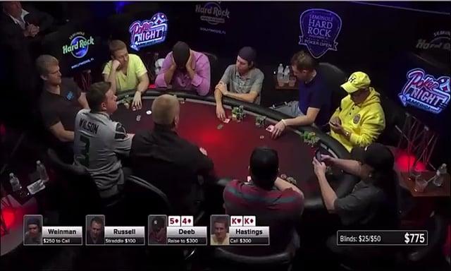 #198: Poker night in america: hand reading