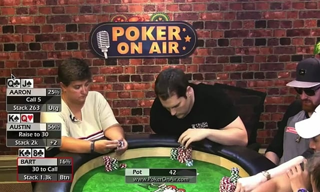 #216: $2-$5 Poker On Air; Bart's hands part 2