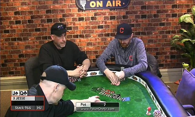 #192: Premiere of poker on air -- tough $2-$5 game Part 2 of 2