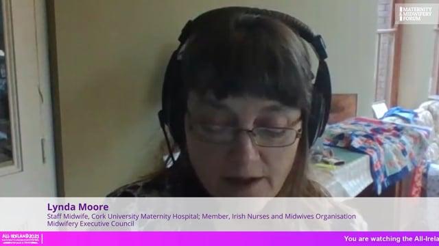 Lynda Moore - Challenges facing midwifery in Ireland