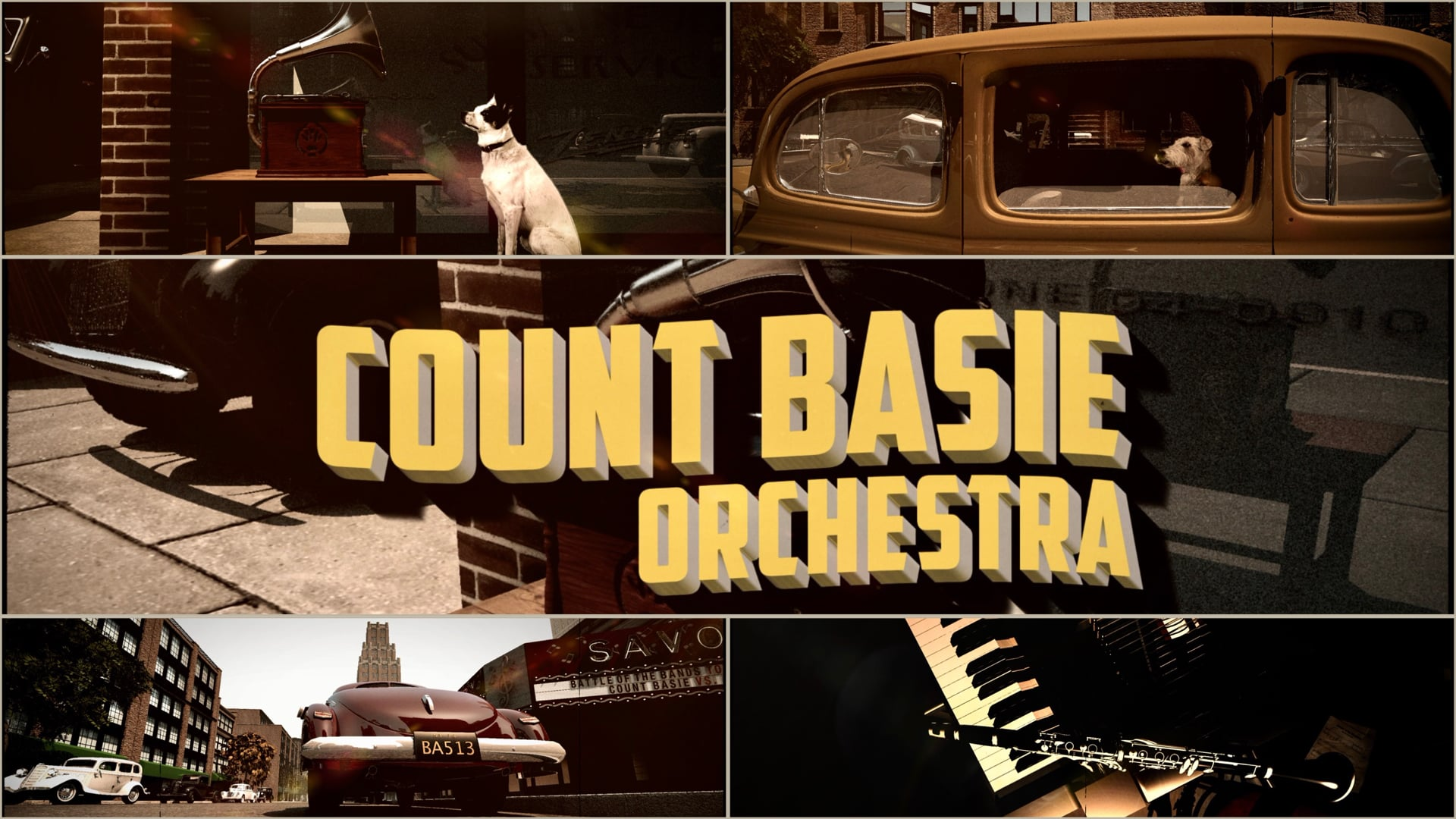 Count Basie - Jumpin' at the Woodside (Official Video)