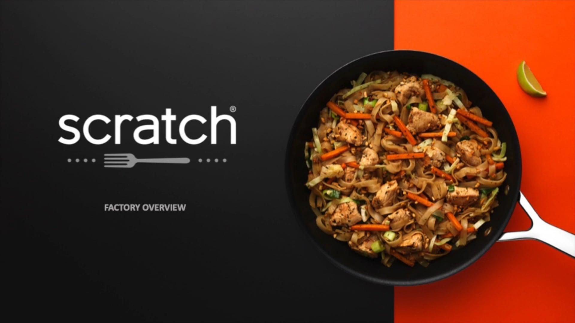 Scratch Meals Factory Tour