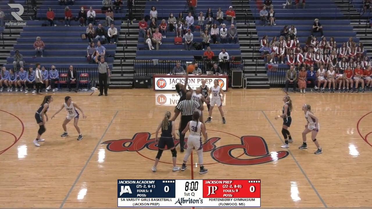 Varsity Girls Basketball at Jackson Prep - 02-09-21