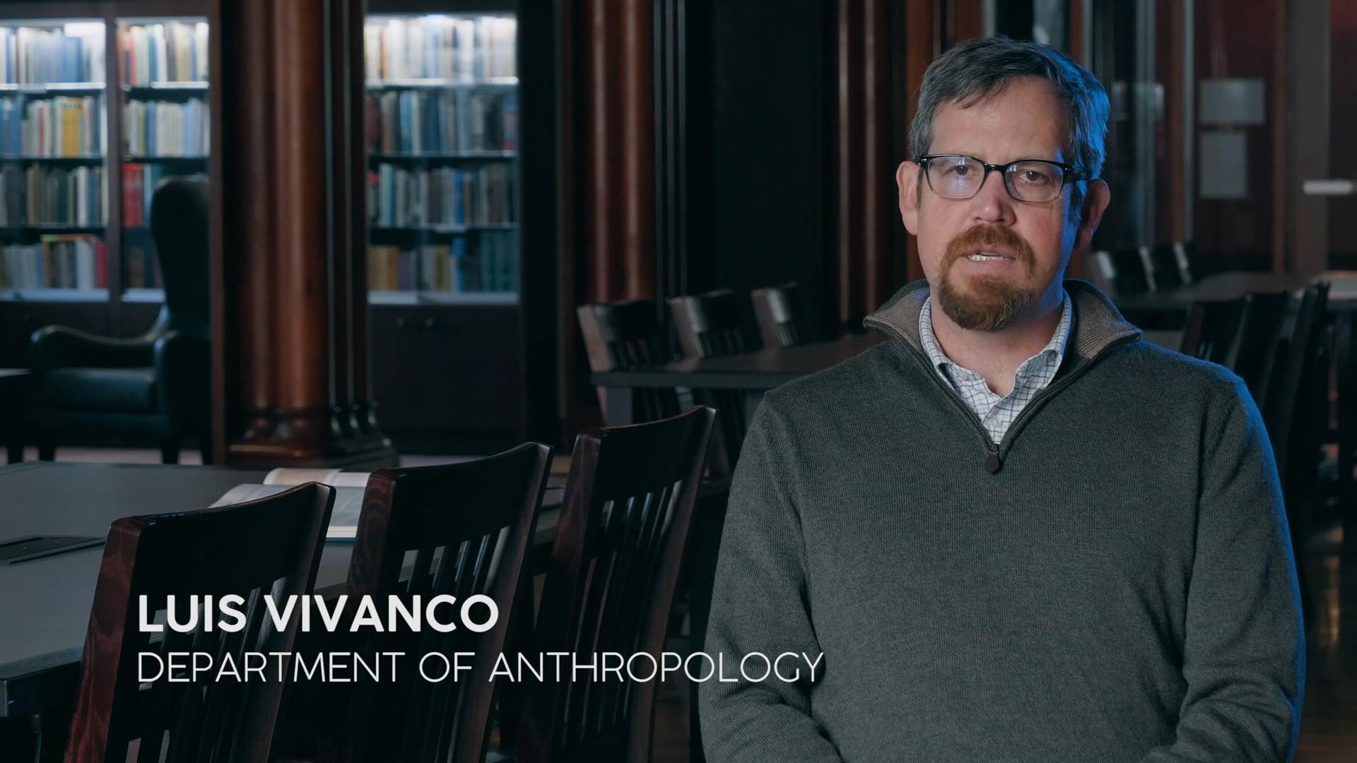 UVM Faculty Profile: Luis Vivanco, Professor of Anthropology