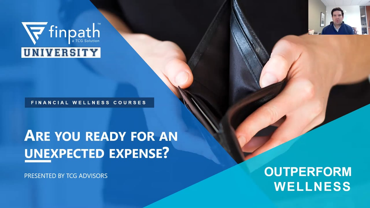 FinPath Course - Are You Ready for an Unexpected Expense?