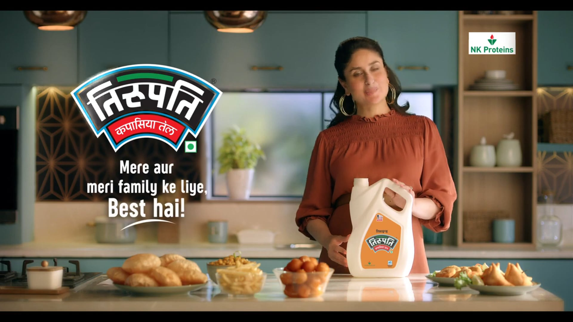 Tirupatil Cottonseed Oil TVC  Food Stylist | Nitin Tandon