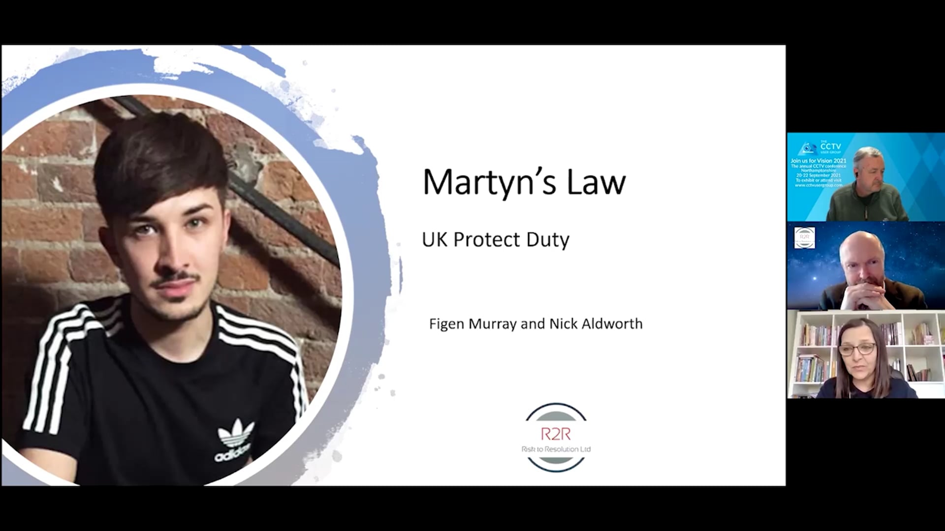 SW05 Snapshot Webinar - Martyns Law