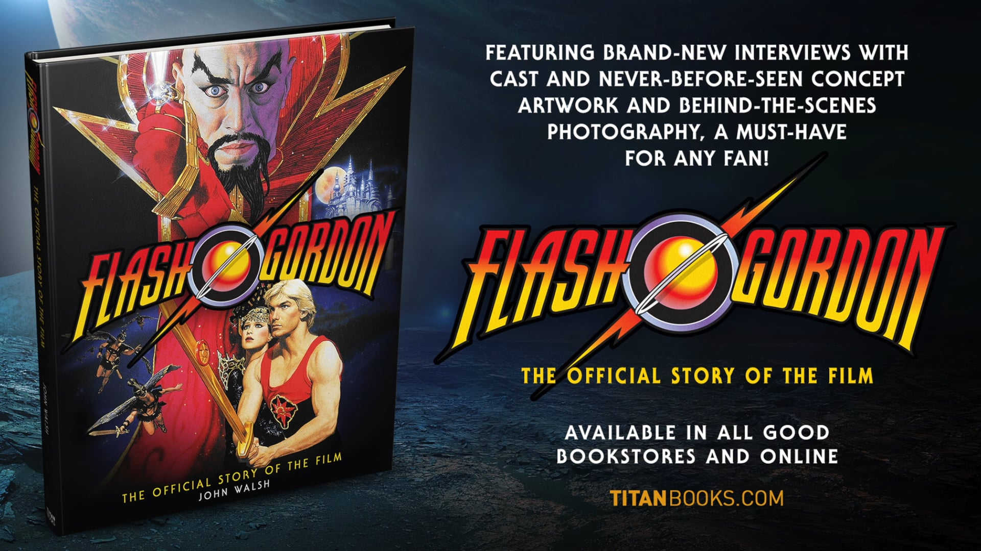 Flash Gordon The Official Story of the Film (Official Trailer)