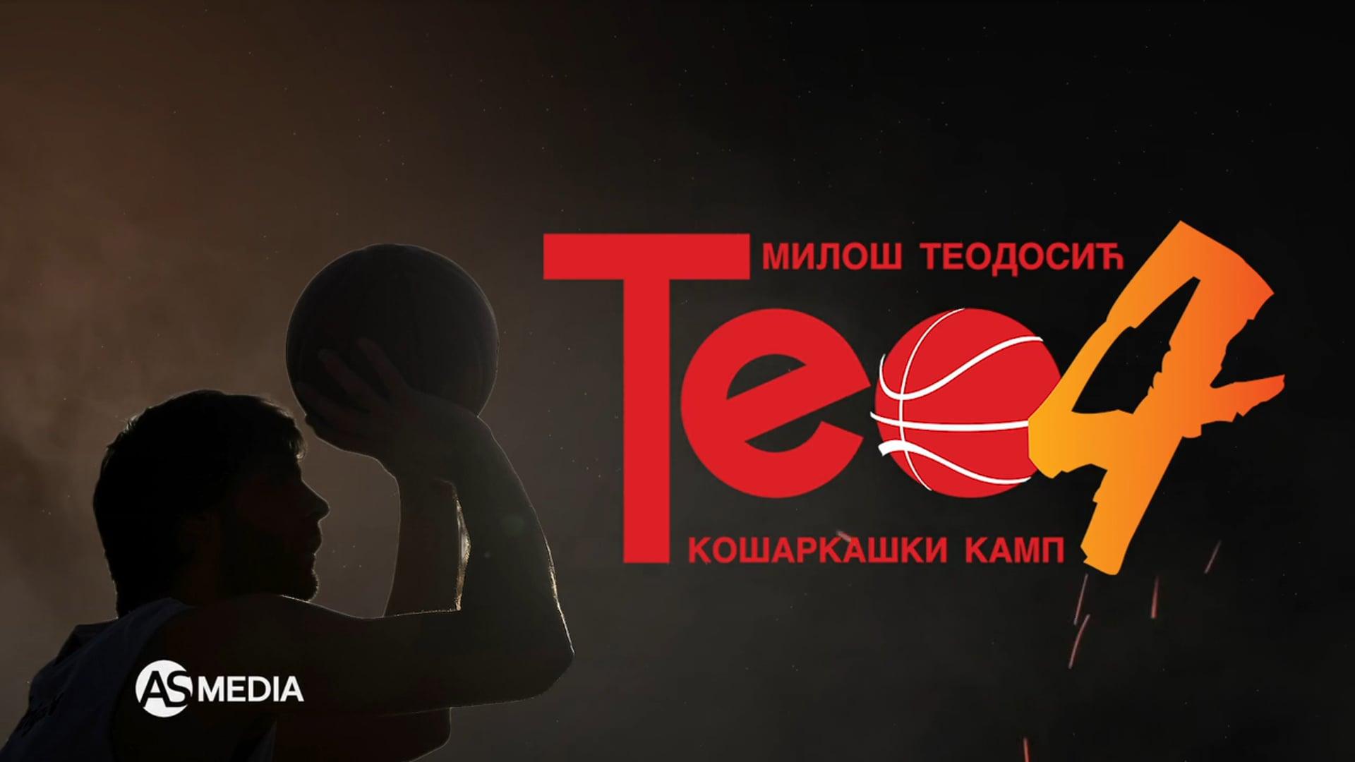 Kosarkaski kamp Teo 4/Srebrno jezero 2021