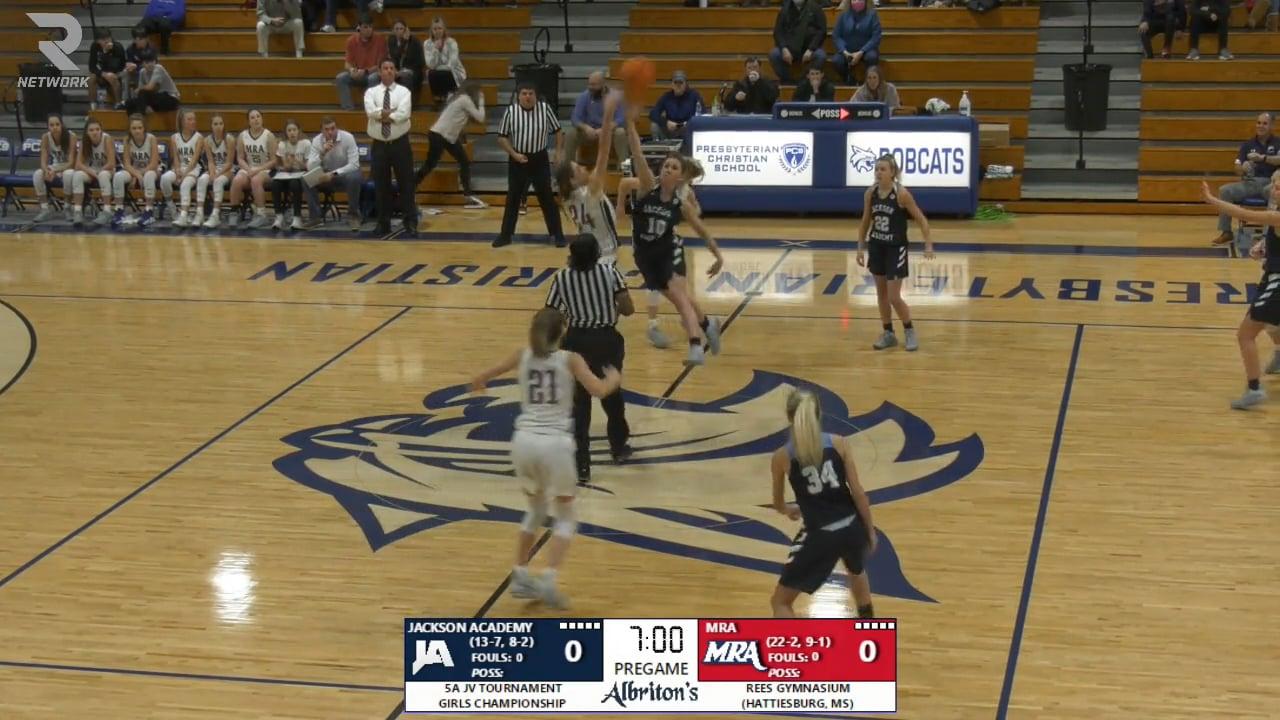 JV Girls Basketball vs MRA - 02-13-21