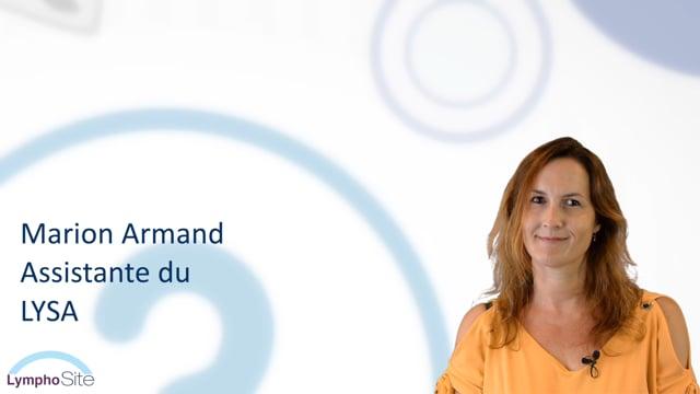 Miniature de la vidéo Marion ARMAND nous parle du LymphoSite.fr