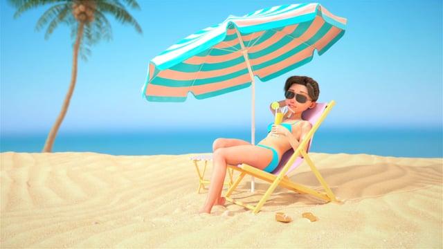 unilever-skin animation 3D-vdef