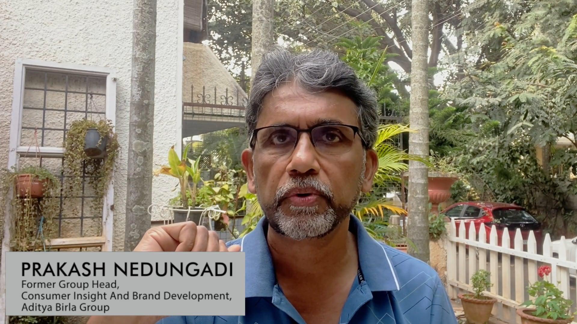 Prakash Nedungadi on 'The Right Choice' book