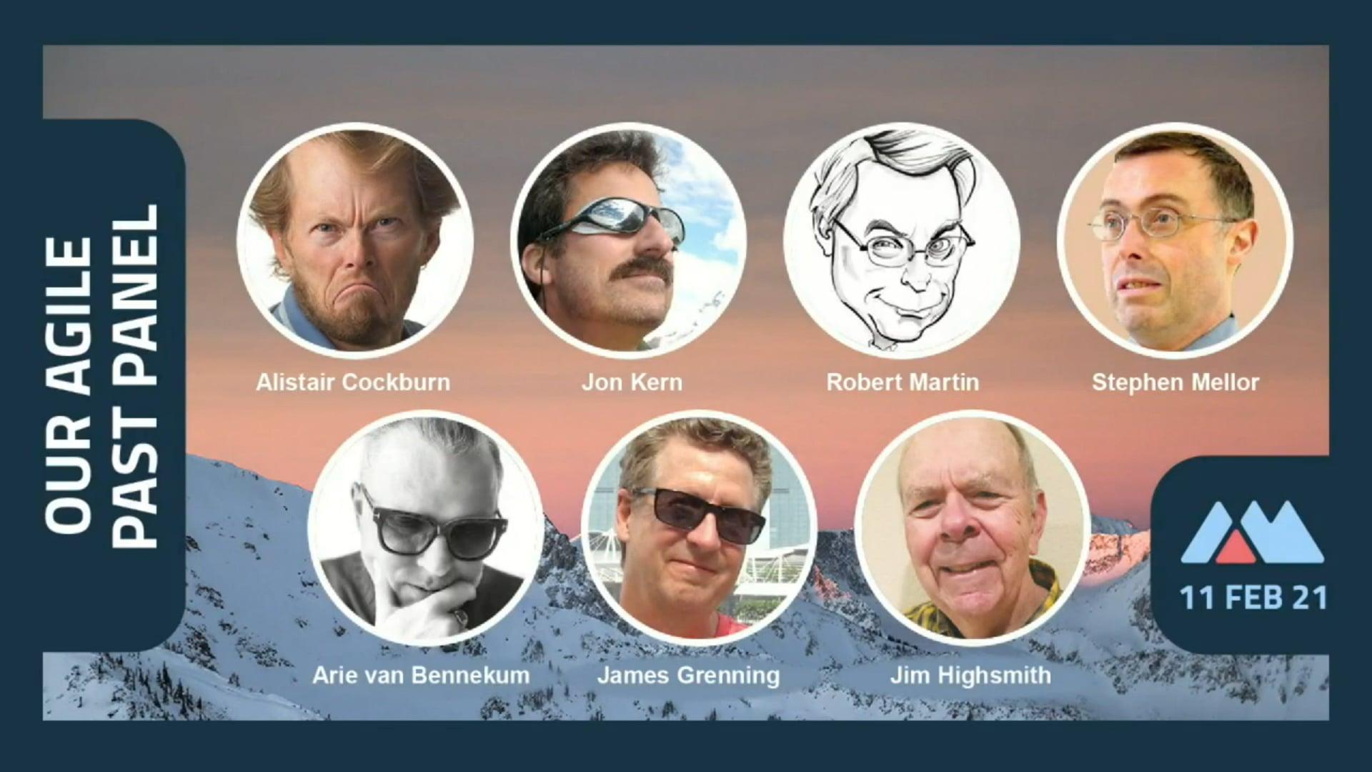 Agile Manifest 20th Anniversary - Past Panel