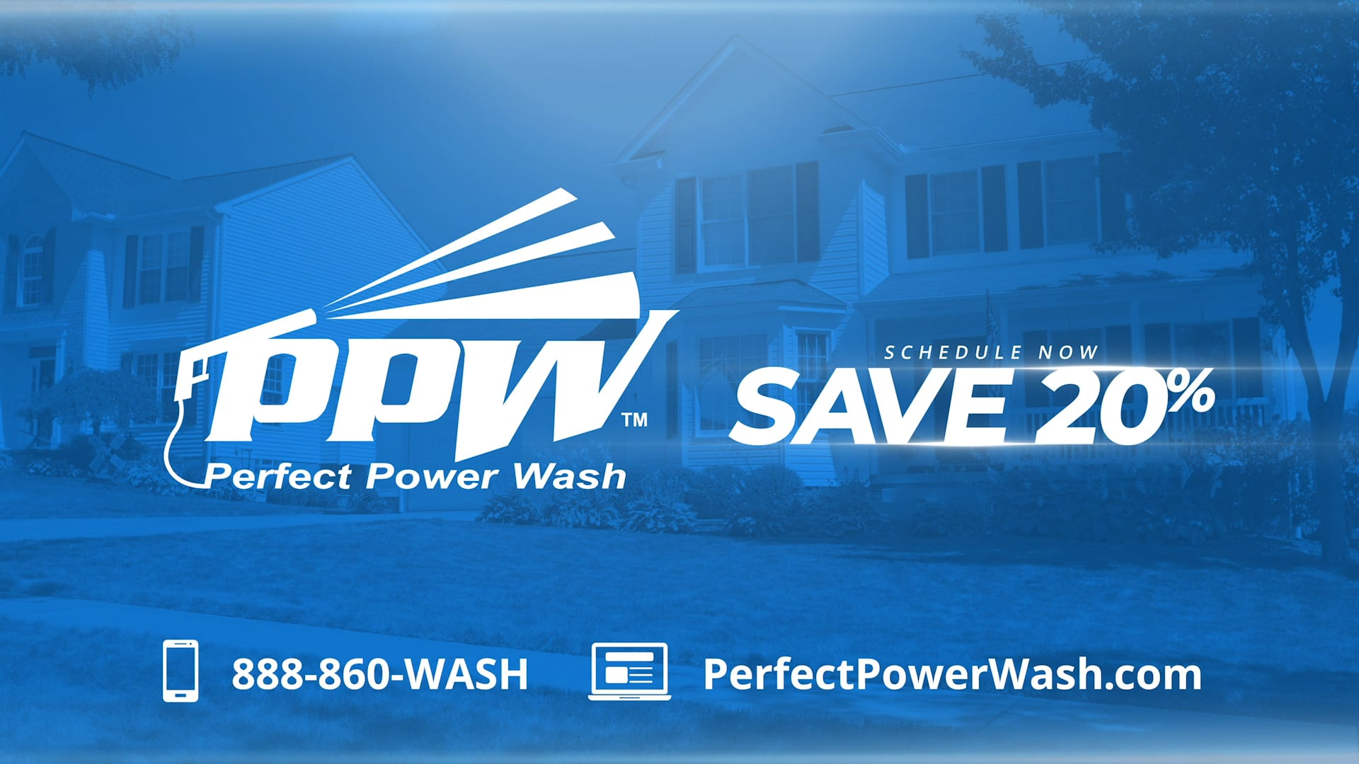 Perfect Power Wash - House Siding TV Spot