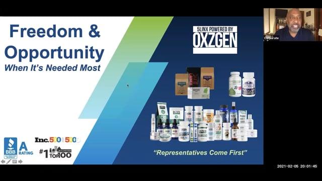 37555LINX Opportunity Presentation – Darryl Huckaby
