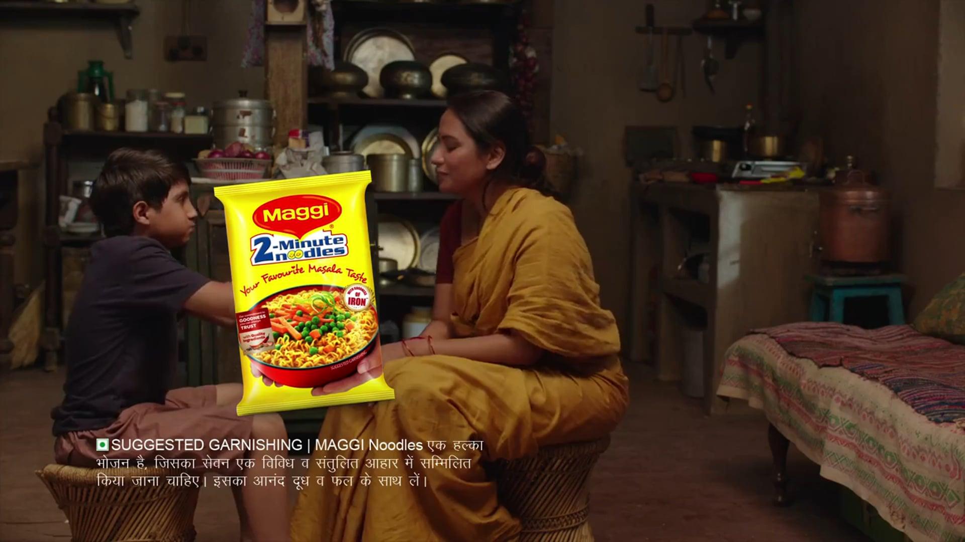 MAGGI Masala Noodles with Goodness of Iron - Food Stylist Nitin Tandon