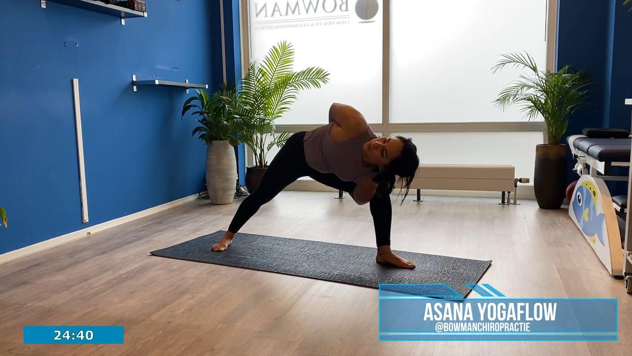 1 uur Asana yoga flow