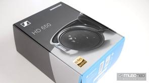 Unboxing słuchawek Sennheiser HD650