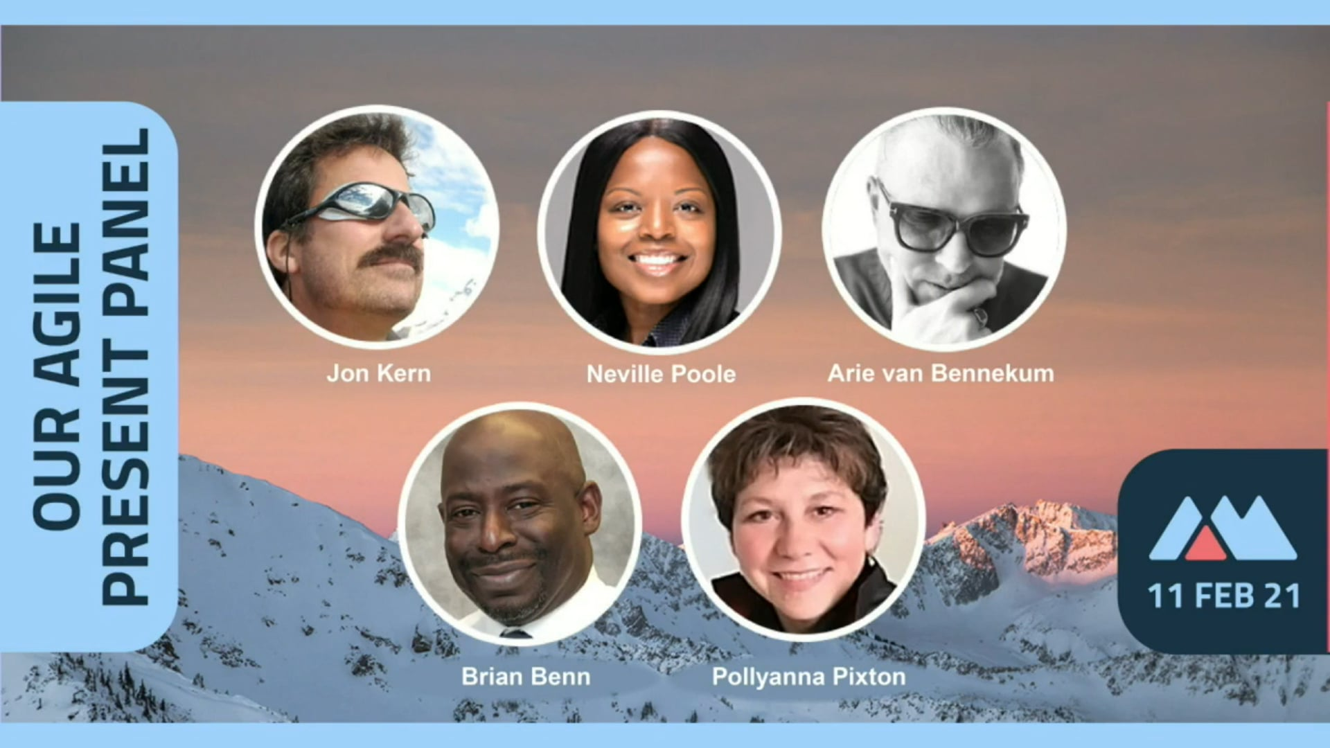 Agile Manifesto 20th Anniversary - Present Panel
