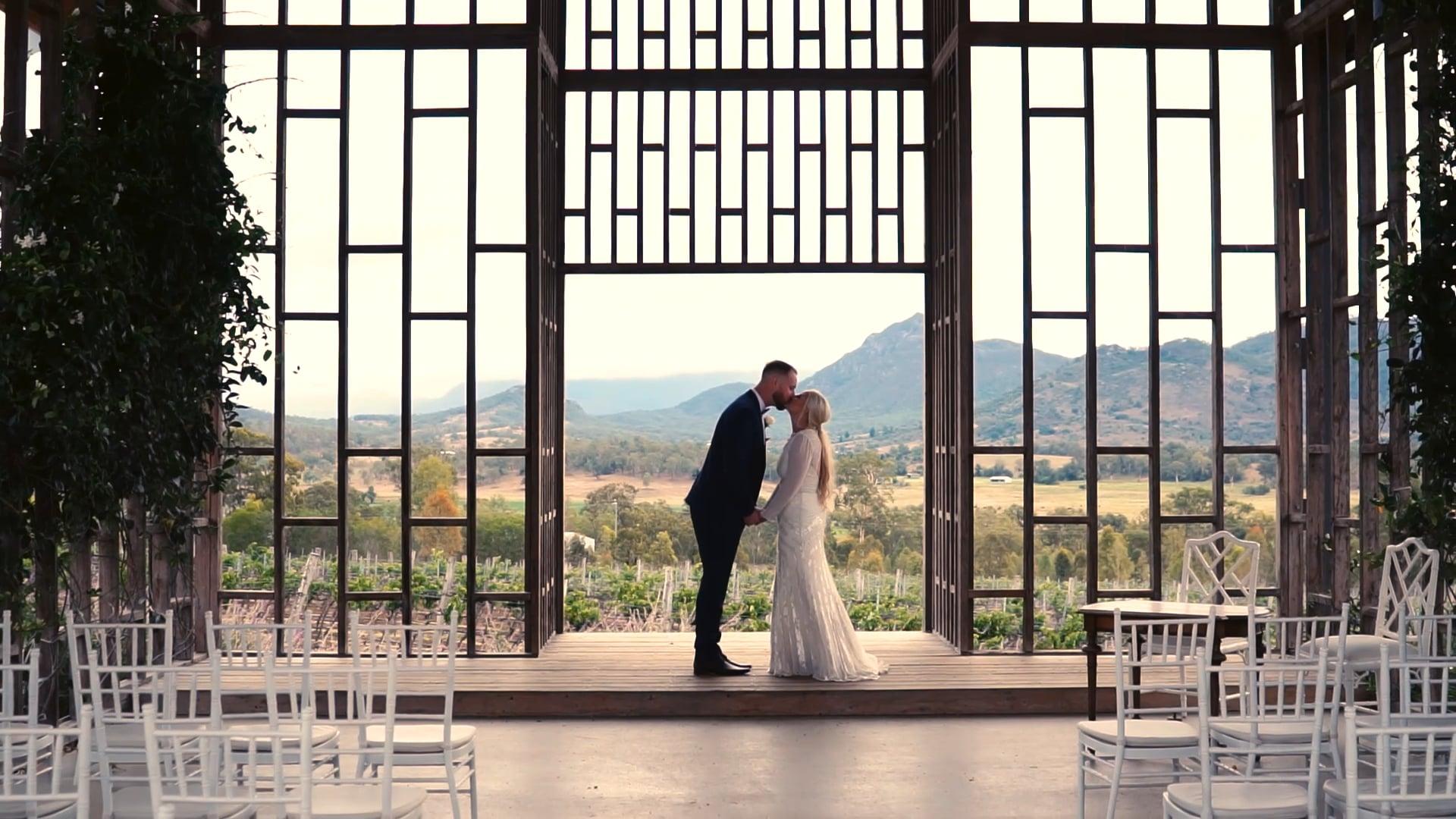 Eilish & Andrew - Kooroomba Lavender Farm, Scenic Rim Wedding
