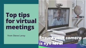 How to get the best out of a virtual meeting
