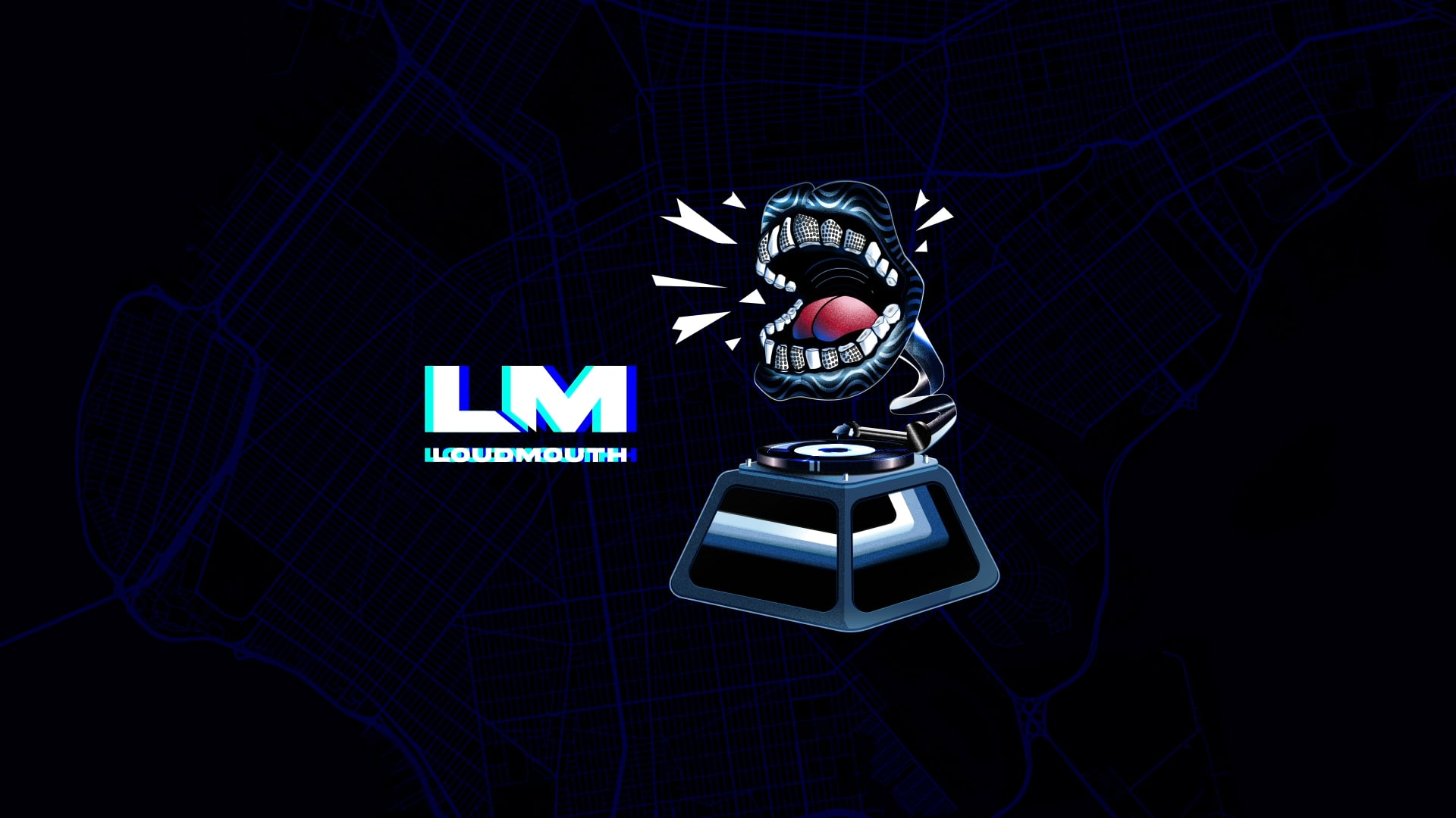 Loud Mouth Records Animation