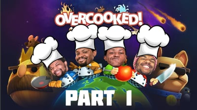 The Wildest, Most Dysfunctional Kitchen Ever!!! - Overcooked Stream Part 1