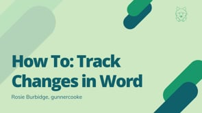 Track Changes on Microsoft Office