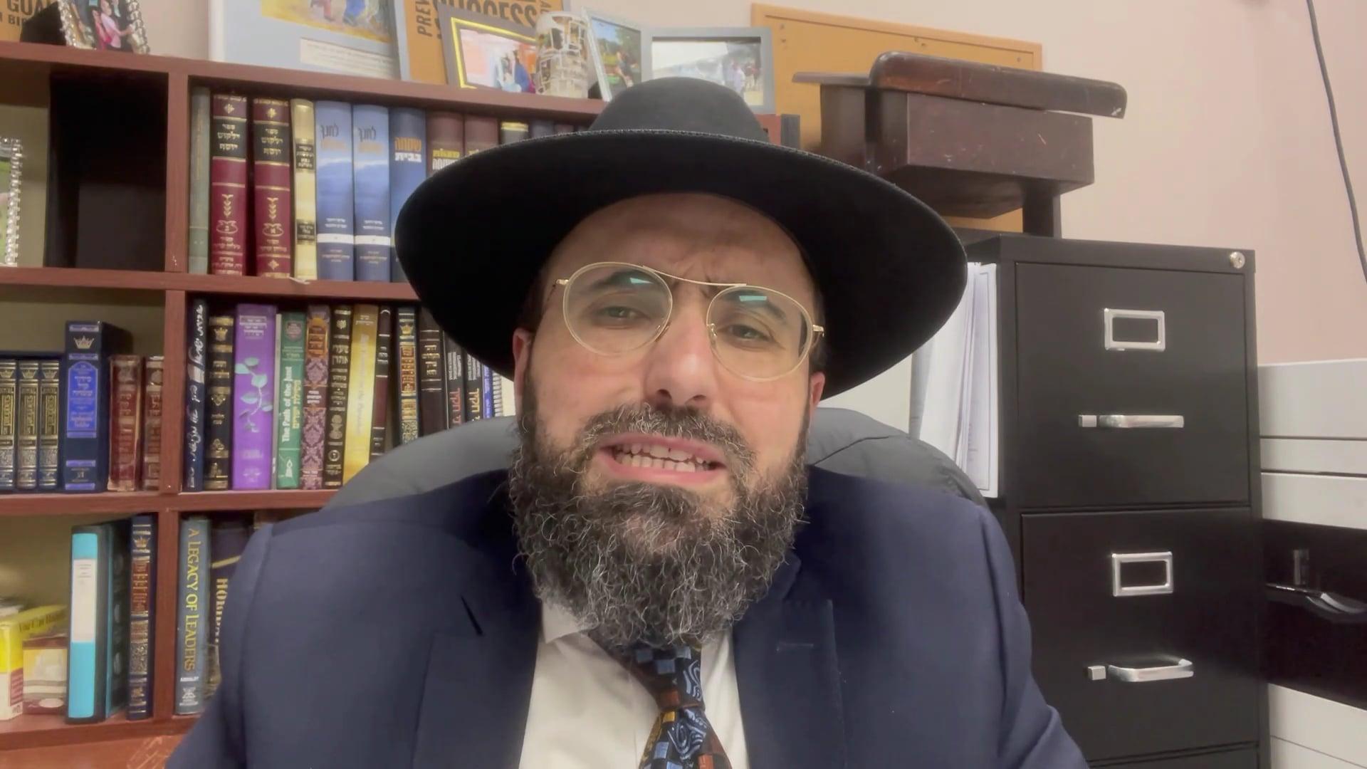 Rabbi Ben Mordechai: Chinuch in the Parasha - Parshat Zachor