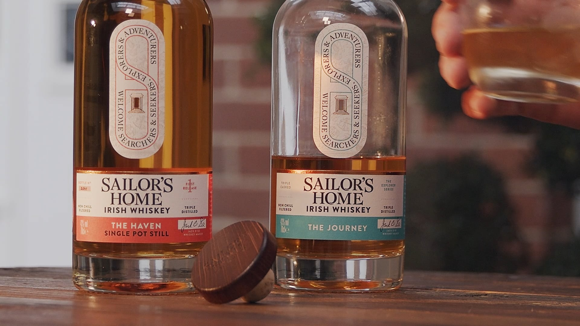 Sailor's Home Whiskey - The Journey