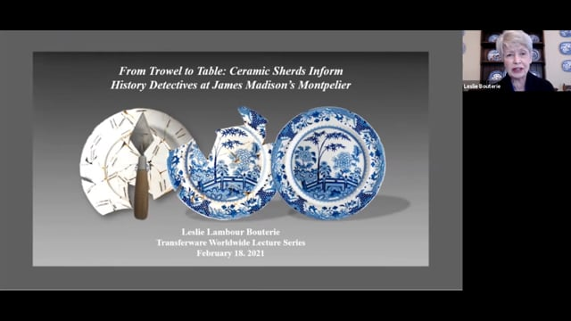 From Trowel to Table: Ceramic Sherds Inform History Detectives at James Madison's Montpelier