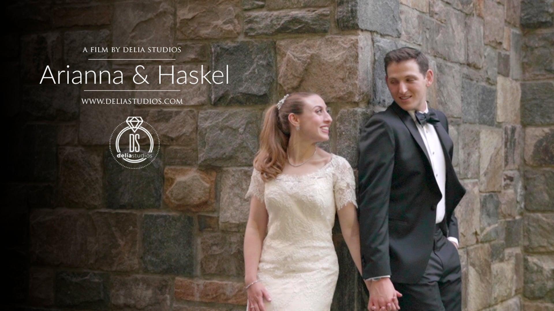 Arianna & Haskel :: Temple Emanuel, Closter, NJ :: Wedding Highlights