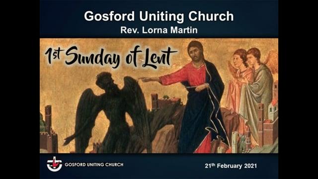 21st February 2021 - Rev. Lorna Martin
